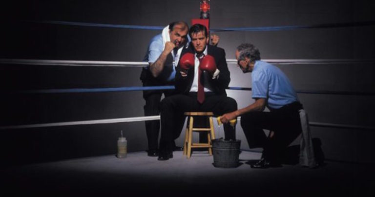 The Midlife 'Gut Punch' and Getting Up Off the Canvas