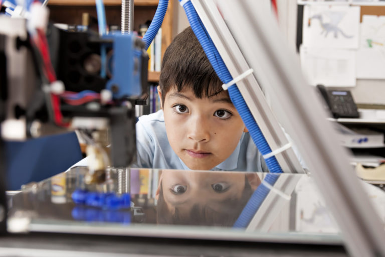 Reading, Writing…and 3D Printing?