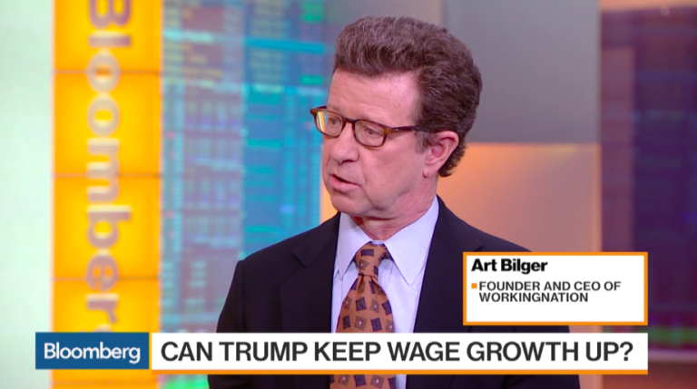 Art Bilger discusses solutions for U.S. labor force on 'Bloomberg Markets'