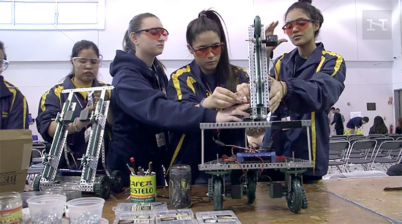 First All Girls Robotics Team Heads To National Competition