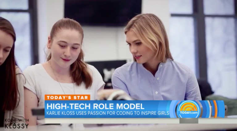 Supermodel Karlie Kloss Launches Coding Camps to Teach Girls 'Superpower' Skill