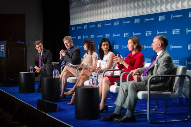 Working Nation Panel at the Milken Institute - 2017