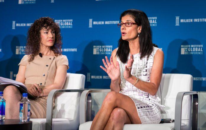 Shernaz Daver - Panelist, and Cheryl Strauss Einhorn