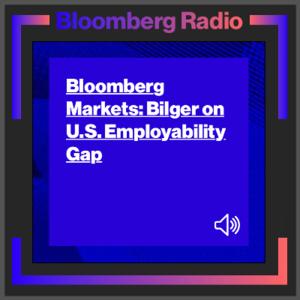 Art Bilger talks about employment gap with Bloomberg Radio