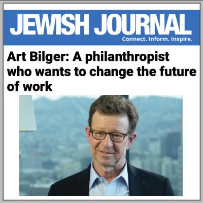 The Jewish Journal profiles Art Bilger