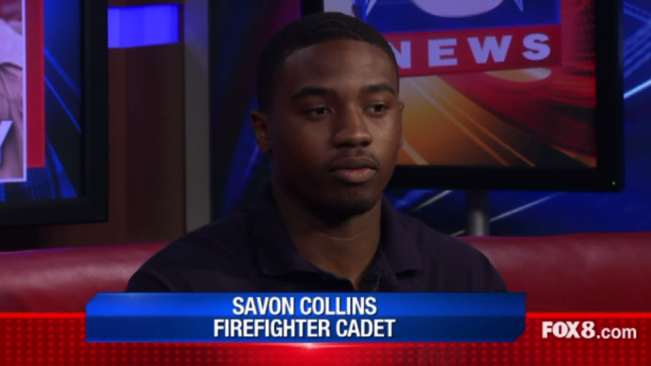 Tri-C Cadet Savon Collins from our DSA 'Changing Lives
