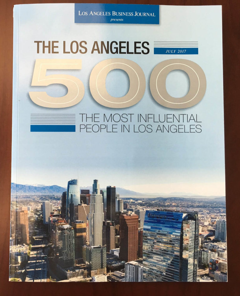 "Art Bilger named in the ""LA 500"" most influential list"