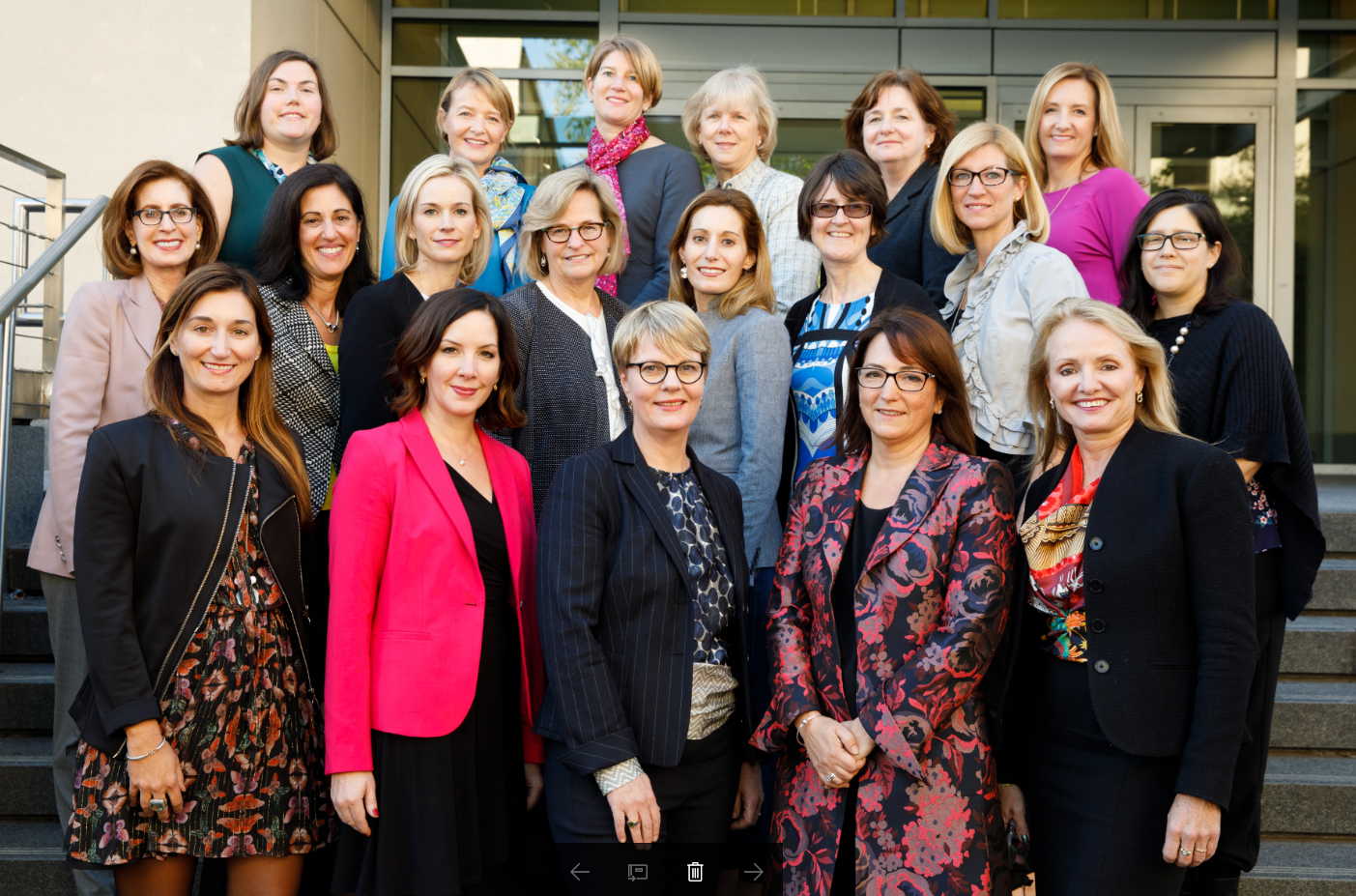 Closing the gap through diversity kate haviland of blueprint the 2017 boardroom ready class photo women in bio website malvernweather Images