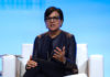 Penny Pritzker at the ASU + GSV 2018 Summit.