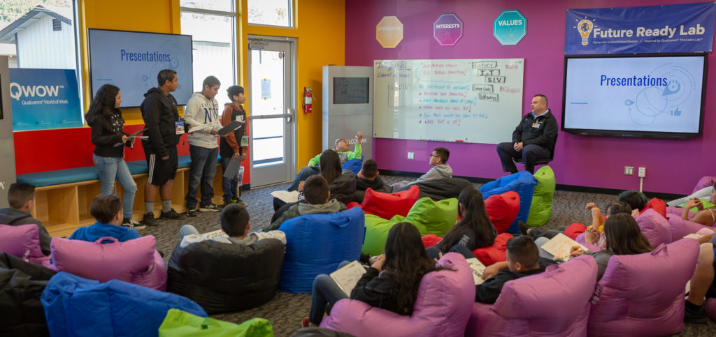 Students learn valuable soft skills like communication and teamwork in the Thinkabit Lab experience.