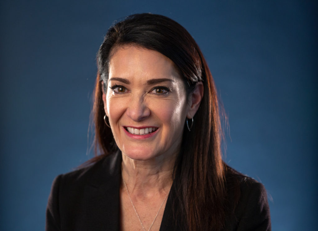 Cindy Brown was part of the team which brought the Qualcomm Thinkabit Lab model to Porterville, Calif.