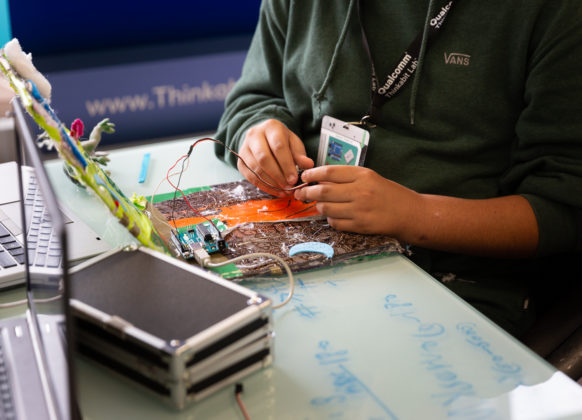 Thinkabit Lab inventions are powered by young minds and Arduino hardware.