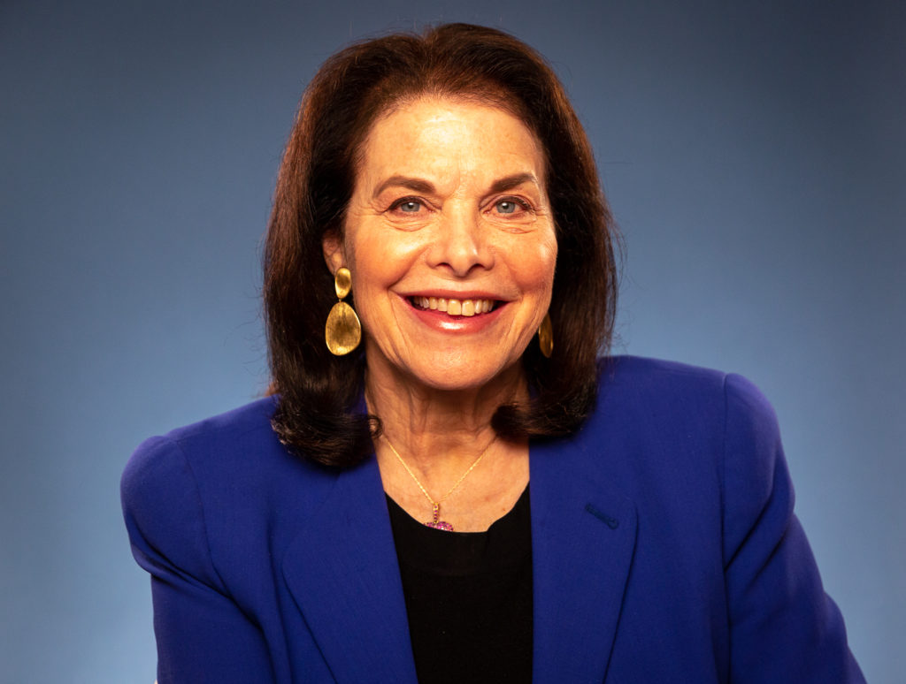 EnCorps STEM Teachers Program Founder and former Paramount Pictures CEO Sherry Lansing.
