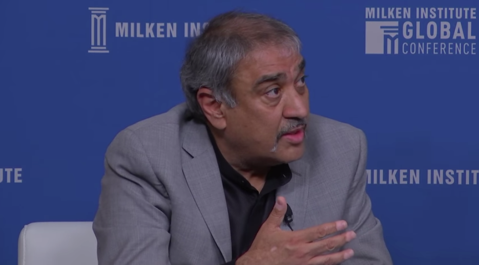 Pradeep Khosla talked about the economic shift for middle class Americans at the Milken Global Conference 2018.