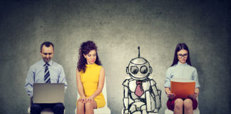 The future of work will be robots.