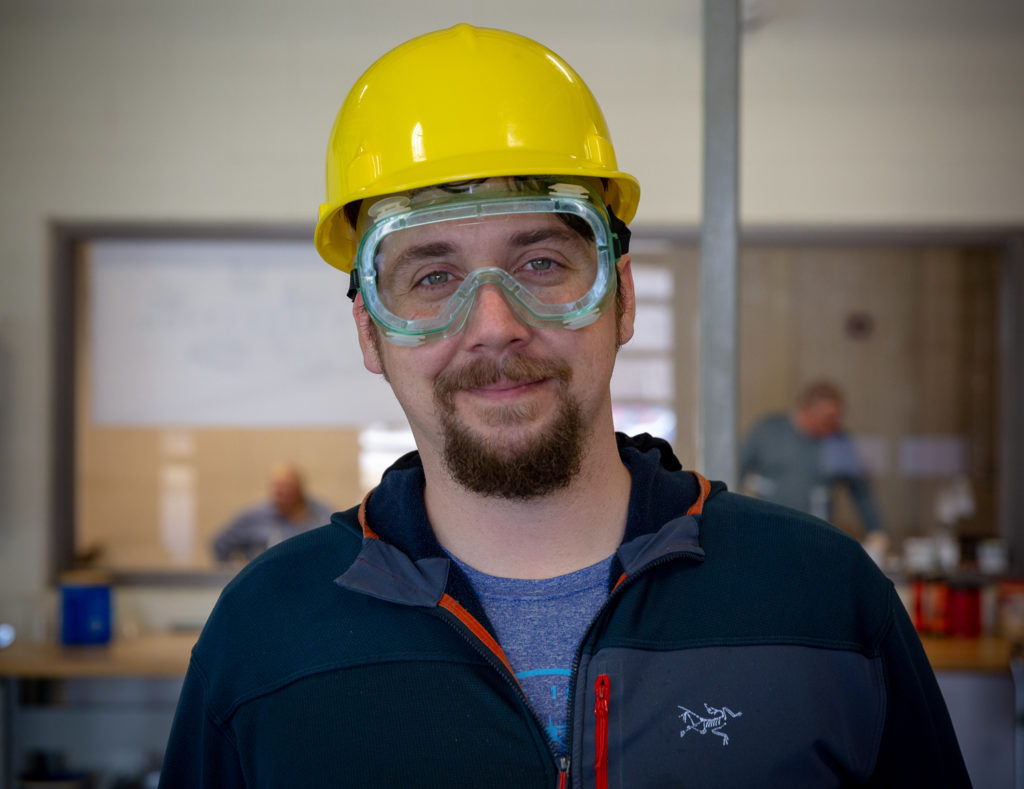 Trevor Engwis is a participant in Delta College's Chemical Process Fast Start™ training program