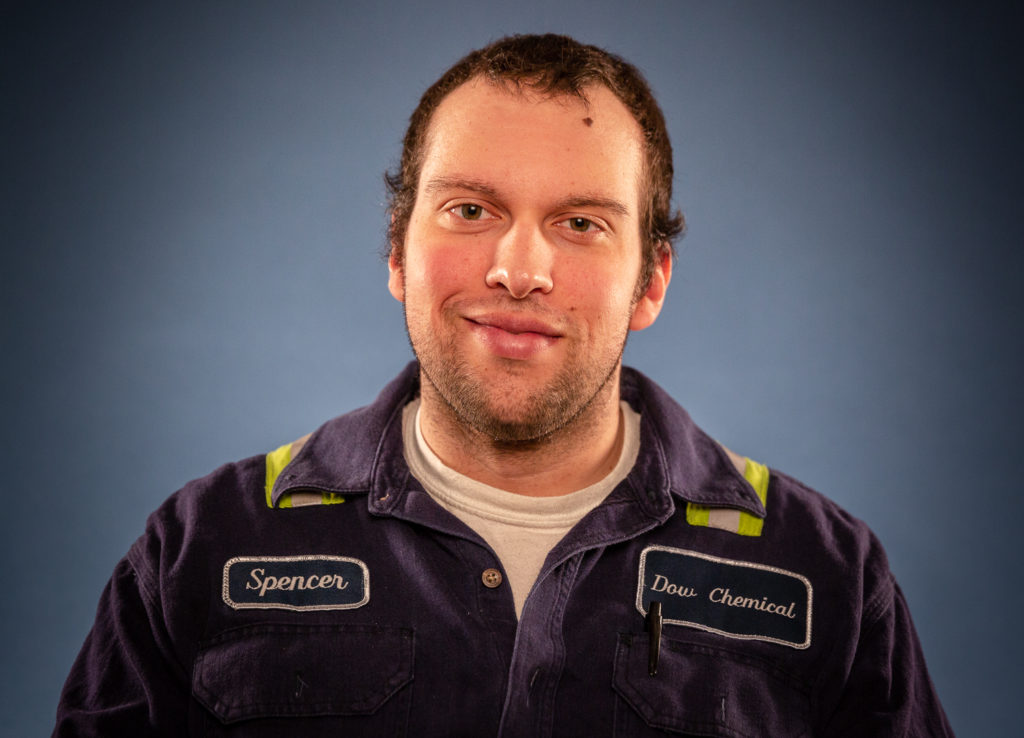 Spencer Mulder is a graduate Delta College's Chemical Process Fast Start™ training program.