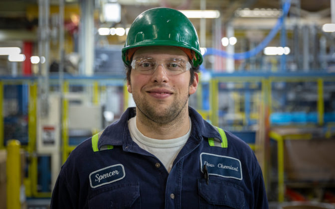 Mulder is a graduate of the Delta College Fast Start program and now works at Dow Chemical in Midland, Michigan.