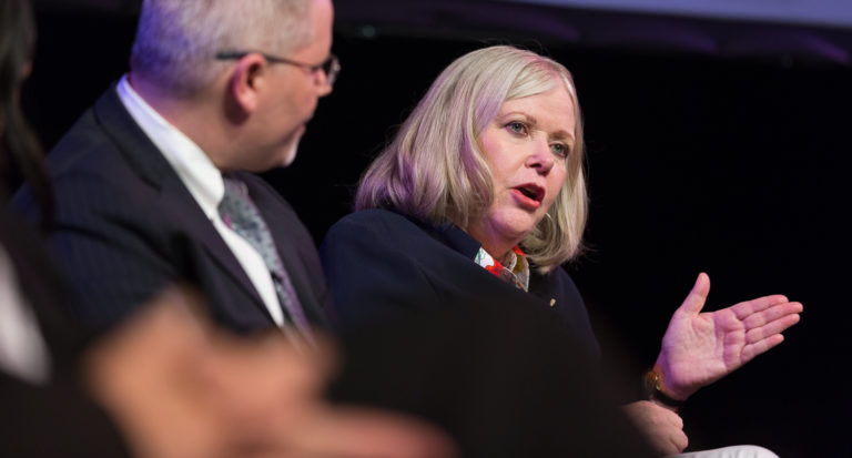 Jane Oates: Talent shortage forcing 'rethink' of education system