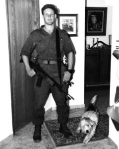 Danny Lewin in his IDF uniform in 1990.