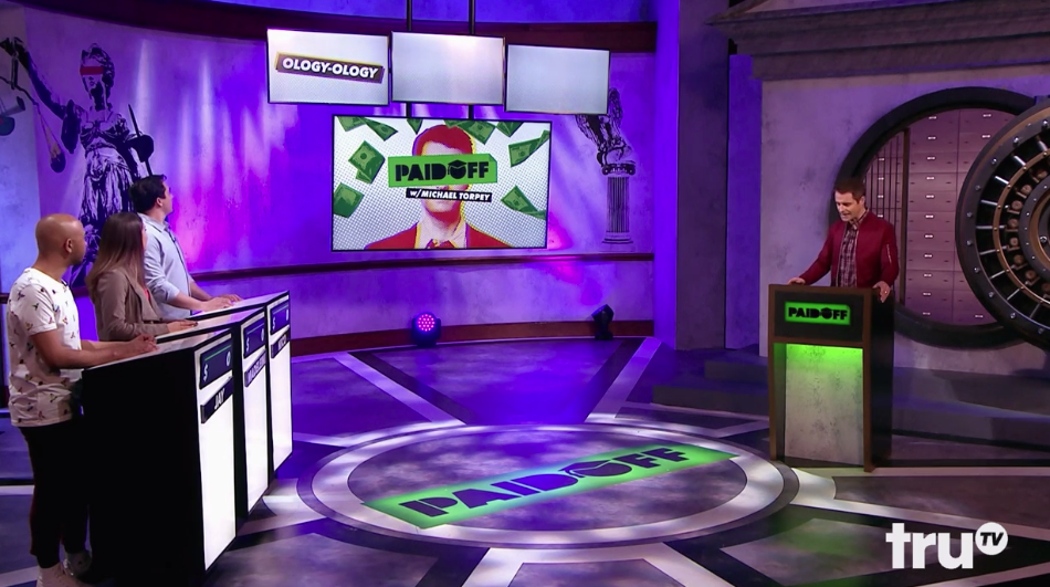 Paid Off is a game show that raises awareness of the student debt crisis.