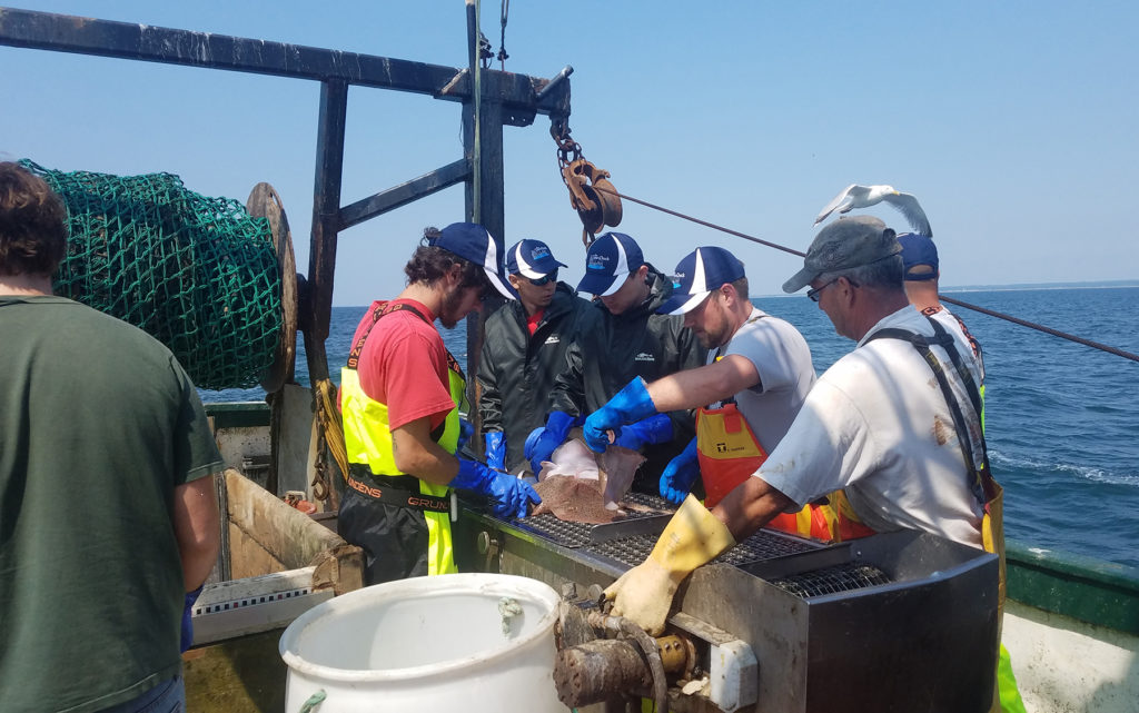 Rhode Island's apprenticeship program with Commercial Fisheries Center works to train new workers for one of the state's primary industries.