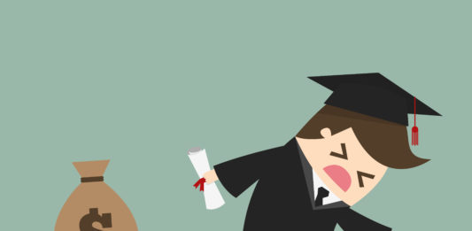 The student loans crisis is no laughing matter.