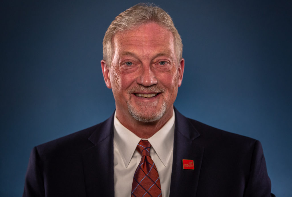 SkillsUSA board member Russ Hoffbauer.