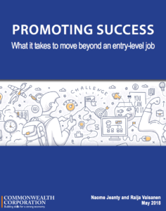This study looks at the responsibility of career advancement.