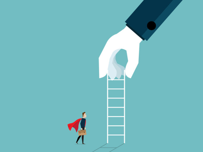Climbing the career ladder is something that can be achieved with input from employers and the workers.