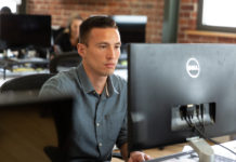 Charles Anderson is a The Last Mile graduate who got his first web dev job with BloomNation.