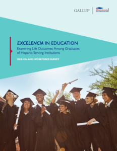 Latino career outcomes are improved when they attend HSIs.