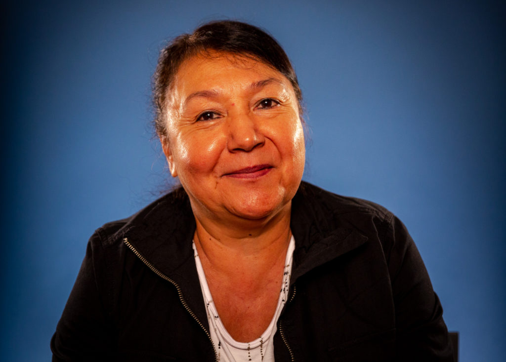 Leta Campbell is a Coeur d'Alene Tribal Council member and one of the supporters of the DHAT program from ADTEP.