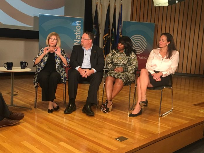 The second panel at WorkingNation's Town Hall on work-based learning.