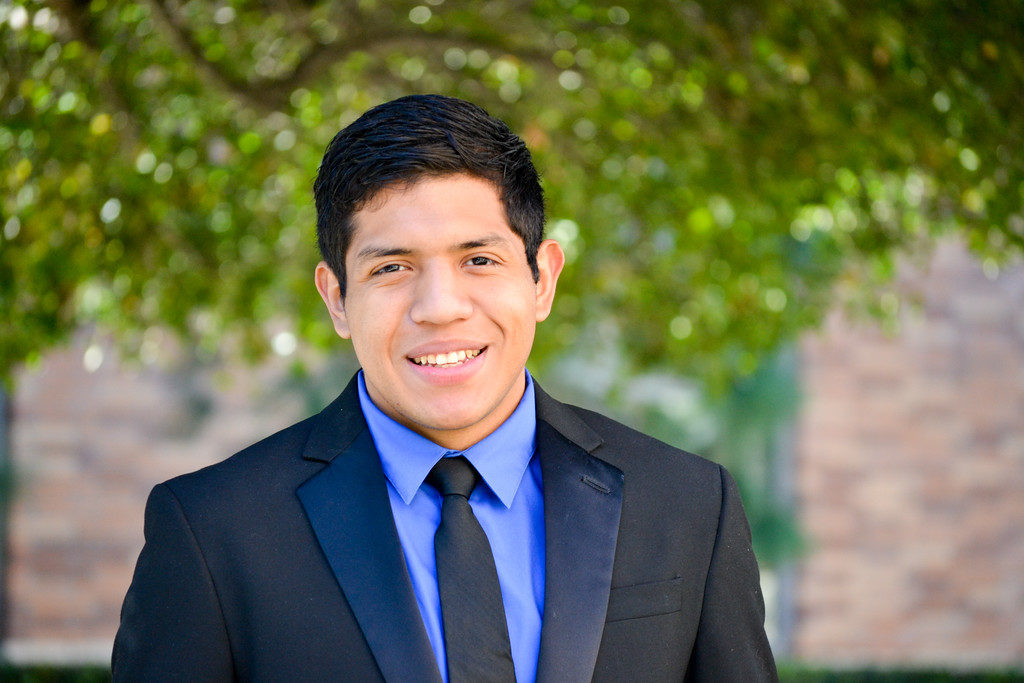 Ruben Triscareno attended Tiger Woods Foundations' TGR Learning Lab and is now a student at a California public university.