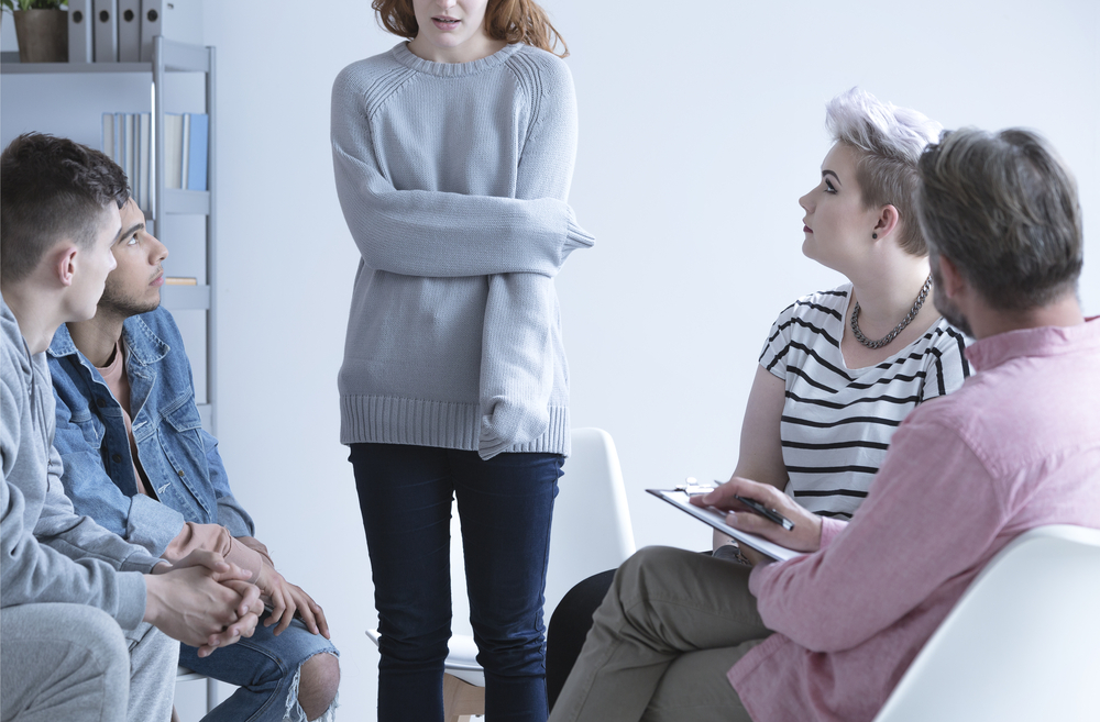 Group therapy and 12-Step programs can be a resource to break the cycle of opioid addiction.