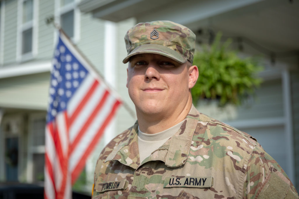 John Pomelow is an HBI student who trained at the program's location at Fort Bragg in North Carolina.