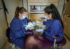 Dental Health Aide Therapists work on patient's teeth.