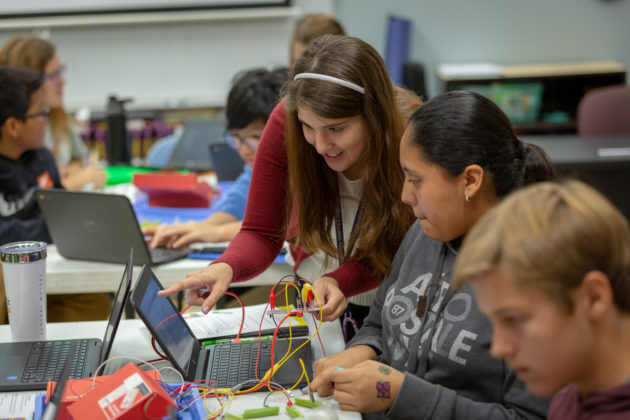UTeach graduates work within project-based learning concepts to deliver science skills.