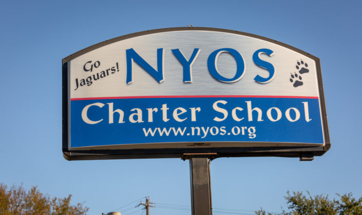 UTeach graduate Kira Lowery works at NYOS Charter School in Austin, Texas.
