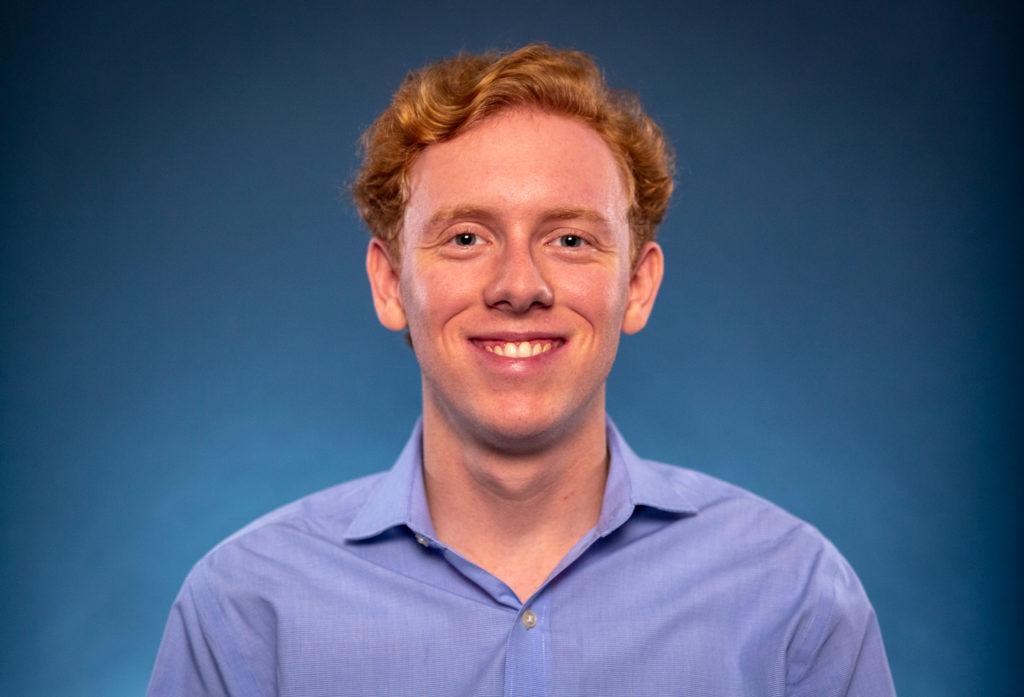 UTeach student and University of Texas at Austin junior Garrett Mott.