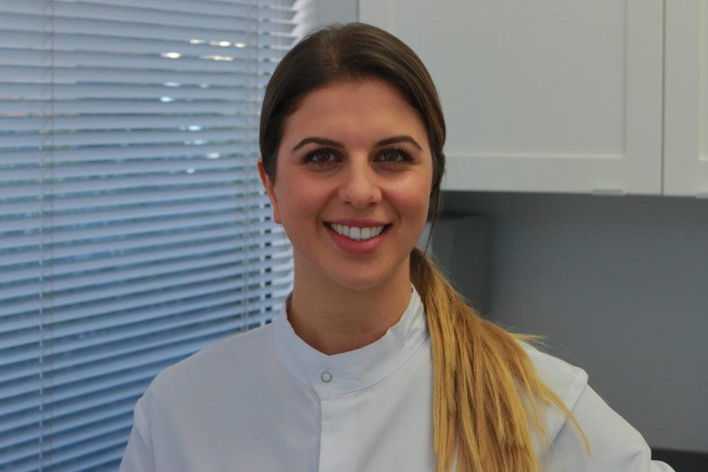 Dental hygienist Helen Akopyan.