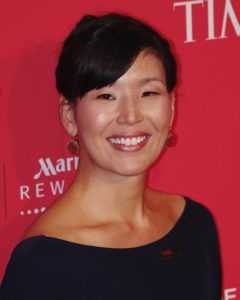 Ai-jen Poo at the 2012 Time 100 gala.