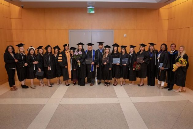The 2018 graduating class from the UCLA Health Medical Assistant Program.