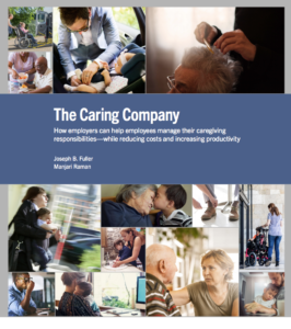 Caregiving burdens are examined between employer and employees in a new study from Harvard Business School Project on Managing the Future of Work.