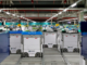 "In Britain, robots are seen on the grid of the ""smart platform"" at the Ocado warehouse in Andover."