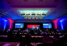 Auditorium photo of NFL Big Data Bowl