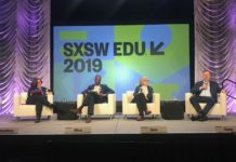 Rethinking Education as We Live & Work Longer panel at SXSW EDU.