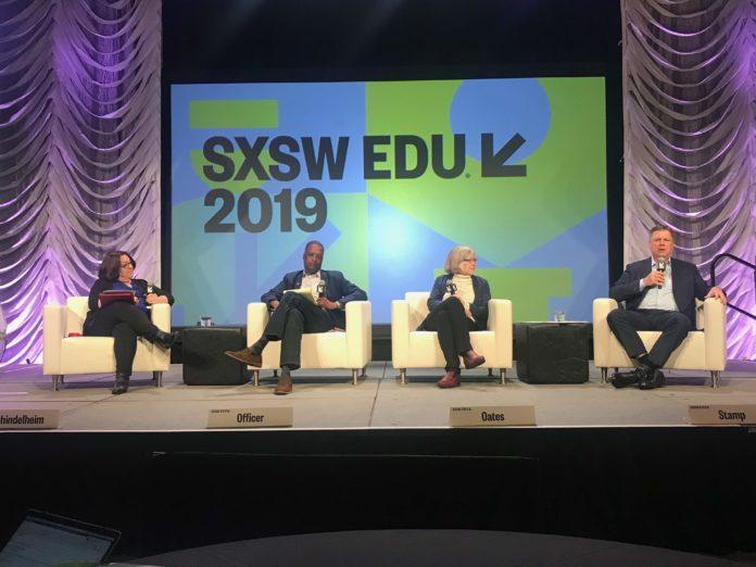 Rethinking Education as We Live & Work Longer panel at SXSW EDU.