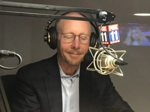Paul Irving during podcast